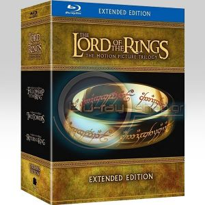 THE LORD OF THE RINGS: THE MOTION PICTURE TRILOGY – EXTENDED EDITION (6 BLU-RAYs + 9 DVDs)