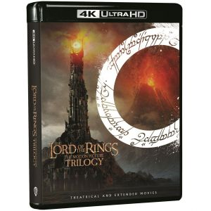 THE LORD OF THE RINGS - THE MOTION PICTURE TRILOGY Theatrical & Extended (4K UHD BLU-RAY)