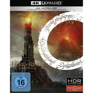 THE LORD OF THE RINGS - THE MOTION PICTURE TRILOGY Theatrical & Extended [Imported] (4K UHD BLU-RAY)