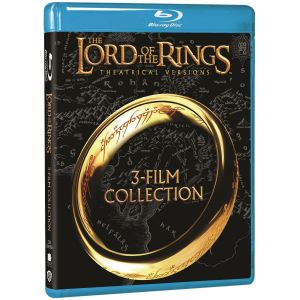 THE LORD OF THE RINGS - THE MOTION PICTURE TRILOGY Theatrical (BLU-RAY)