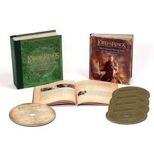 THE LORD OF THE RINGS: THE RETURN OF THE KING - The Complete Recordings Soundtrack BOX SET (BLU-RAY AUDIO + 4 AUDIO CD)