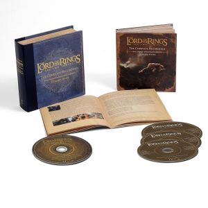 THE LORD OF THE RINGS: THE TWO TOWERS - The Complete Recordings Soundtrack BOX SET (BLU-RAY AUDIO + 3 AUDIO CD)