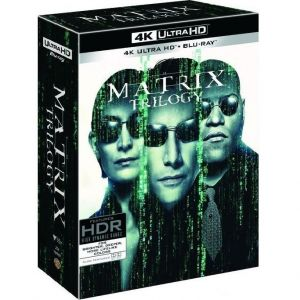 THE MATRIX TRILOGY (4K UHD BLU-RAY + BLU-RAY)