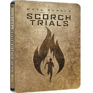 THE MAZE RUNNER 2: THE SCHORCH TRIALS - Ο ΛΑΒΥΡΙΝΘΟΣ 2: ΠΥΡΙΝΕΣ ΔΟΚΙΜΑΣΙΕΣ Limited Edition Steelbook (BLU-RAY)