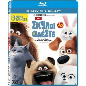 THE SECRET LIFE OF PETS 3D (BLU-RAY 3D + BLU-RAY)
