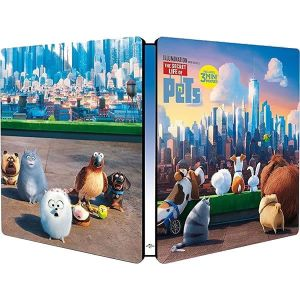 THE SECRET LIFE OF PETS 3D - Limited Edition Steelbook (BLU-RAY 3D + BLU-RAY)