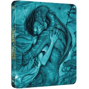 THE SHAPE OF WATER - Η ΜΟΡΦΗ ΤΟΥ ΝΕΡΟΥ Limited Edition Steelbook (BLU-RAY)