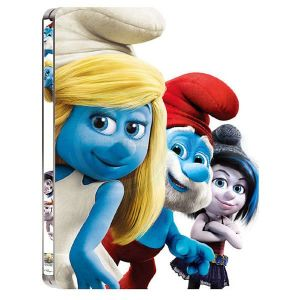 THE SMURFS 2 3D [4K MASTERED] Limited Collector's Edition Steelbook [Imported] (BLU-RAY 3D + BLU-RAY)