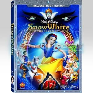 THE SNOW WHITE AND THE SEVEN DWARFS COMBO - Η ΧΙΟΝΑΤΗ ΚΑΙ ΟΙ ΕΠΤΑ ΝΑΝΟΙ COMBO (2 BLU-RAY + DVD)