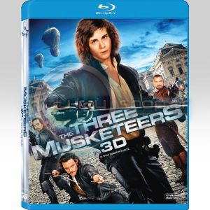 THE THREE MUSKETEERS in 3D (BLU-RAY 3D)