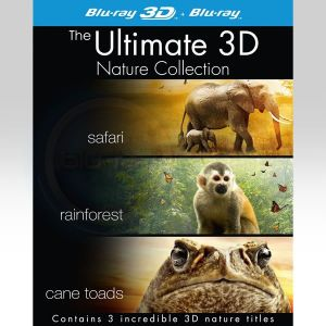 THE ULTIMATE 3D NATURE COLLECTION - SAFARI 3D, RAINFOREST 3D, CANE TOADS 3D: THE CONQUEST [Imported] (BLU-RAY 3D + BLU-RAY)