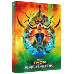 THOR: RAGNAROK 3D+2D Limited Collector's Numbered Edition #1 Steelbook + PHOTOBOOK + CARDS (BLU-RAY 3D + BLU-RAY)
