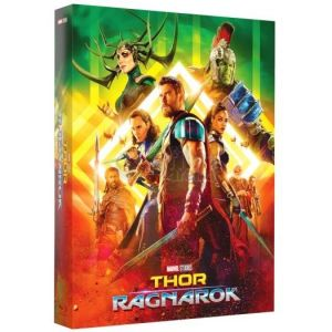 THOR: RAGNAROK 3D+2D Limited Collector's Numbered Edition #2 Steelbook + BOOKLET + Special CARDS ΑΠΟΚΛΕΙΣΤΙΚΟ [ΜΕ ΕΛΛΗΝΙΚΟΥΣ ΥΠΟΤΙΤΛΟΥΣ σε 2D] (BLU-RAY 3D + BLU-RAY)