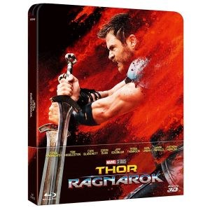 THOR: RAGNAROK 3D+2D Limited Edition Steelbook EXCLUSIVE [Imported] (BLU-RAY 3D + BLU-RAY 2D)