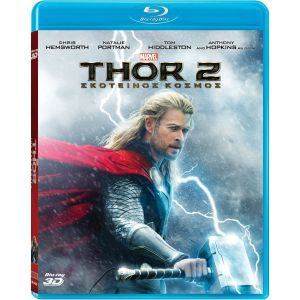 THOR: THE DARK WORLD 3D Superset - THOR 2: ΣΚΟΤΕΙΝΟΣ ΚΟΣΜΟΣ 3D Superset (BLU-RAY 3D + BLU-RAY) ***MARVEL EXCLUSIVE***