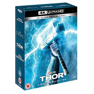 THOR  Trilogy 4K+2D [Imported] (4K UHD BLU-RAY + BLU-RAY)