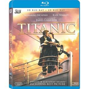 TITANIC [1997] 3D 4-Disc Deluxe Edition (BLU-RAY 3D + BLU-RAY)