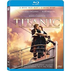 TITANIC [1997] 4-Disc Combo (2 BLU-RAYs + 2 DVDs)