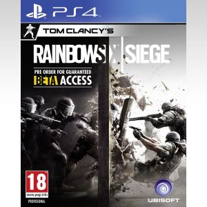 TOM CLANCY'S RAINBOW SIX: SIEGE (PS4)