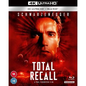 TOTAL RECALL 4K+2D [1990] [Imported] (4K UHD BLU-RAY + BLU-RAY)