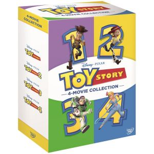 TOY STORY 1-4 MOVIE COLLECTION BOX-SET (4 DVD)