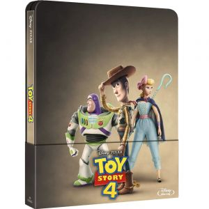 TOY STORY 4 Limited Edition Steelbook [Imported] (BLU-RAY)