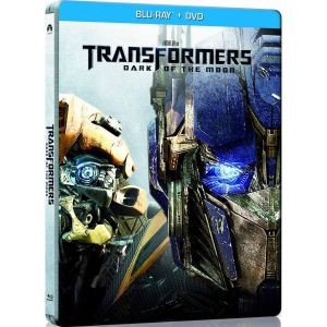 TRANSFORMERS : DARK OF THE MOON STEELBOOK COMBO (BLU-RAY STEELBOOK + DVD)
