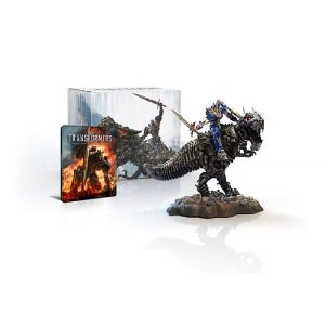 TRANSFORMERS 4: AGE OF EXTINCTION 3D Limited Collector's Edition Steelbook + DINOBOT [Imported] (BLU-RAY 3D + BLU-RAY)