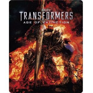 TRANSFORMERS 4: AGE OF EXTINCTION 3D - TRANSFORMERS 4: ΕΠΟΧΗ ΑΦΑΝΙΣΜΟΥ 3D Limited Collector's Edition Steelbook (BLU-RAY 3D + 2 BLU-RAY)