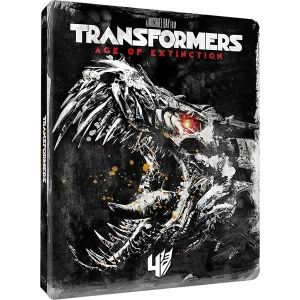 TRANSFORMERS 4: AGE OF EXTINCTION Limited Edition Steelbook [Imported] (BLU-RAY)