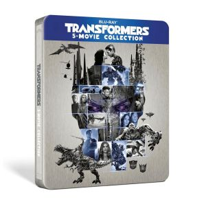 TRANSFORMERS 5-FILM COLLECTION Limited Edition Steelbook (5 BLU-RAY)