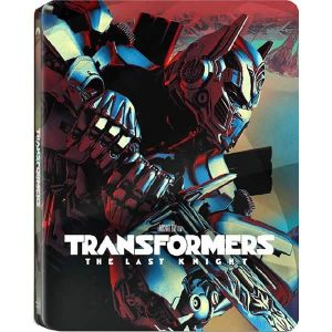 TRANSFORMERS 5: THE LAST KNIGHT 3D+2D - TRANSFORMERS 5: Ο ΤΕΛΕΥΤΑΙΟΣ ΙΠΠΟΤΗΣ 3D+2D Limited Edition Steelbook (BLU-RAY 3D + BLU-RAY 2D)