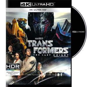 TRANSFORMERS 5: THE LAST KNIGHT 4K (4K UHD BLU-RAY)