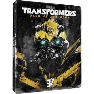 TRANSFORMERS: DARK OF THE MOON Limited Edition Steelbook [Imported] (BLU-RAY)