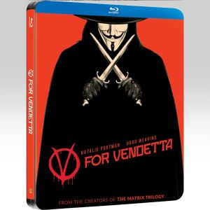V FOR VENDETTA Limited Edition Steelbook [Imported] (BLU-RAY)