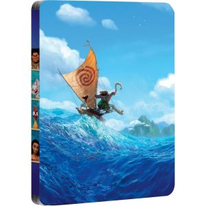 VAIANA 3D Limited Edition Steelbook (BLU-RAY 3D + BLU-RAY)