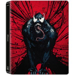 VENOM 3D+2D RED VISUAL Limited Edition Steelbook (BLU-RAY 3D + BLU-RAY 2D)