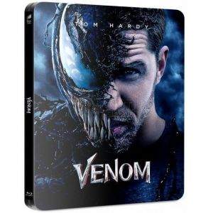 VENOM 4K+3D+2D Limited Edition Steelbook TOM HARDY VISUAL ΑΠΟΚΛΕΙΣΤΙΚΟ (4K UHD BLU-RAY + BLU-RAY 3D + BLU-RAY 2D + BLU-RAY BONUS)