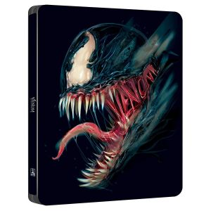 VENOM 4K+3D+2D POP ART Limited Edition Steelbook TOM HARDY VISUAL (4K UHD BLU-RAY + BLU-RAY 3D + BLU-RAY 2D)