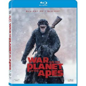 WAR FOR THE PLANET OF THE APES 3D+2D - Ο ΠΛΑΝΗΤΗΣ ΤΩΝ ΠΙΘΗΚΩΝ: Η ΣΥΓΚΡΟΥΣΗ 3D+2D (BLU-RAY 3D + BLU-RAY 2D)