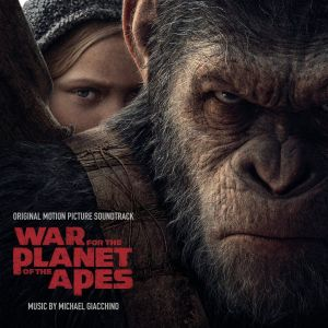 WAR FOR THE PLANET OF THE APES - ORIGINAL MOTION PICTURE SOUNDTRACK (AUDIO CD)