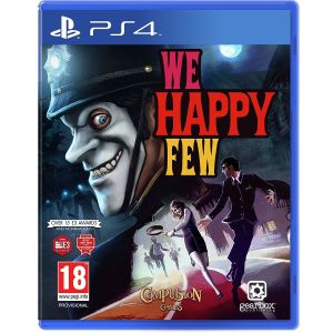 WE HAPPY FEW + DAY 1 PreORDER BONUS Jolly Brolly Weapon (PS4)