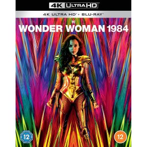 WONDER WOMAN 1984 [Imported] (4K UHD BLU-RAY + BLU-RAY 2D)