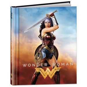 WONDER WOMAN 3D Limited Edition Digibook [Imported] (BLU-RAY 3D + BLU-RAY)