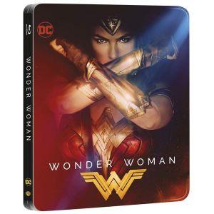 WONDER WOMAN 3D Limited Edition Steelbook [Imported] (BLU-RAY 3D + BLU-RAY)