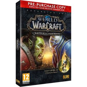 WORLD OF WARCRAFT: BATTLE FOR AZEROTH - Expansion Set PRE-PURCHASE COPY (PC)