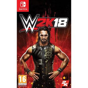 WWE 2K18 + DAY 1 PreORDER BONUS The Kurt Angle Pack (NSW)