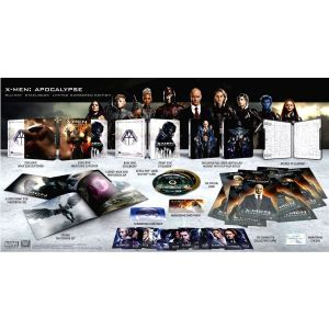 X-MEN: APOCALYPSE 3D - X-MEN: ΑΠΟΚΑΛΙΨ 3D Limited Collector's Numbered Edition Steelbook + PHOTOBOOK (BLU-RAY 3D + BLU-RAY)