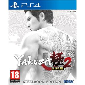 YAKUZA KIWAMI 2 Steelbook Edition (PS4)
