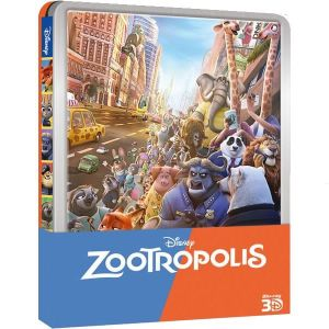 ZOOTROPOLIS 3D Limited Edition Steelbook (BLU-RAY 3D + BLU-RAY)